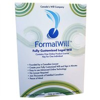 Formalwill Fully Customized Canadian Legal Will Kit