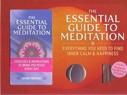Book ESSENTIAL GT MEDITATION by David Fontana