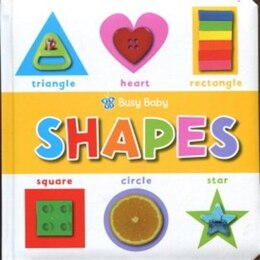 Book Busy Baby Shapes by Make Believe
