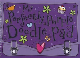 Book My Perfectly Purple Doodle Pad by Lara Ede