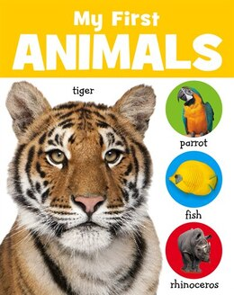 Book MY FIRST ANIMALS CHUNKY BOARD BOOKS by Believe Ideas Make