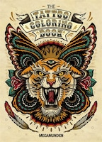 Tattoo Coloring Book: (adult Coloring Books, Coloring Books For Adults, Coloring Books For Grown…