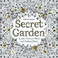 Secret Garden An Inky Treasure Hunt And Coloring Book Book By Johanna Basford Paperback