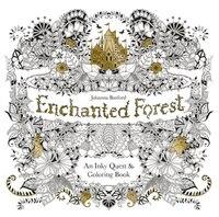 Adult Colouring Books Enchanted Forest Animal Kingdom Fantastic