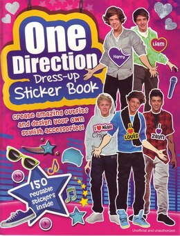Book ONE DIRECTION STICKER BOOK by Carlton Books