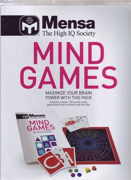 Book Mensa Mind Games Pack by Robert Allen, Phill