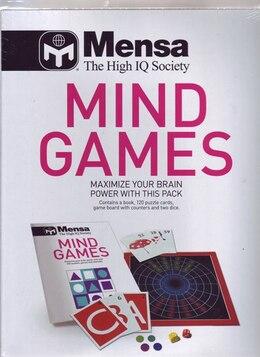 Book Mensa Mind Games Pack by Robert Allen, Phill