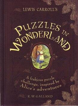 Book Lewis Carrols Puzzles In Wonderland by Richard W. Galland