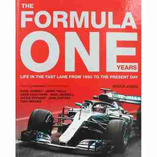 FORMULA ONE YEARS by Bruce Jones