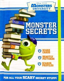 Book DISNEY MONSTER SECRETS by Disney
