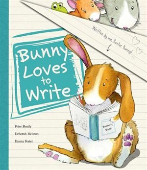 BUNNY LOVES TO WRITE by Na