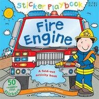 Sticker Playbk Fire Engine