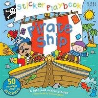 Sticker Playbk Pirate Ship