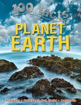 Book 100 FACTS PLANET EARTH PB by Riley Peter