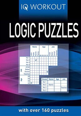 Book IQ WORKOUT LOGIC PUZZLES by Publishing Arcturus