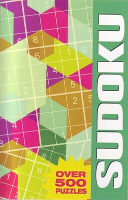 Book Over 500 Puzzles Sudoku by Arcturus Publishing