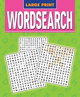 Book LARGE PRINT WORD SEARCH by Arcturus Publishing