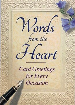 Book Words from the Heart by Glynne-jones Tim