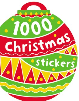 Book 1000 CHRISTMAS STICKERS by Believe Ideas Make