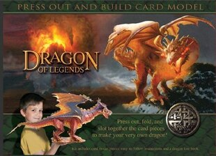 PRESS OUT AND BUILD CARD DRAGON