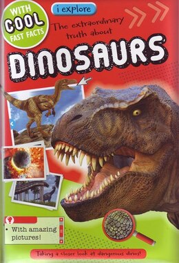 Book IEXPLORE DINOSAURS by Believe Ideas Make