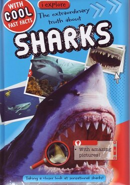 Book IEXPLORE SHARKS by Believe Ideas Make
