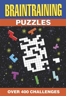 Book 384PP SPIRAL PUZZLES BRAIN TRAINING by Publishing Arcturus