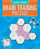 LARGE PRINT BRAIN TRAINING PUZZLES