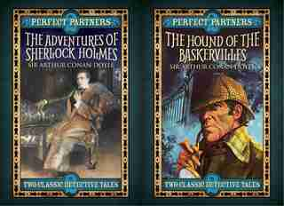 The Hound Of The Baskervilles & The Adventures Of Sherlock Holmes: Slip-case Edition by Arthur Conan-doyle