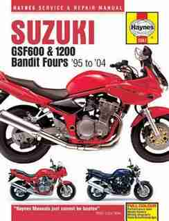 Suzuki: Gsf600, 650 & 1200 Bandit Fours '95 To '06 by Max Haynes