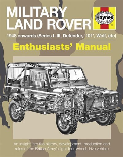 Military Land Rover 1948 Onwards (series I-iii, Defender, '101', Wolf, Etc): An Insight Into The History, Development, Production And Role Of The British Army's Light Four-whee by Pat Ware