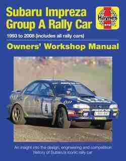 Subaru Impreza Wrc Rally Car by Andrew Van De Burgt