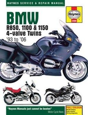 Bmw R850, 1100 & 1150 4-valve Twins '93 To '06 by John H Haynes