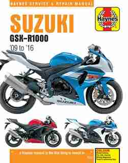 Suzuki Gsx-r1000, 2009-2016 by Haynes Publishing