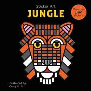 Sticker Art Jungle by Craig & Karl