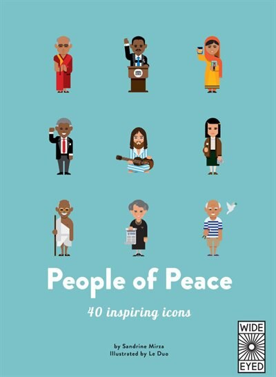 People Of Peace: 40 Inspiring Icons by Sandrine Mirza