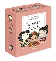 Little People, Big Dreams: Women In Art: 3 Books From The Best-selling Series! Coco Chanel - Frida…