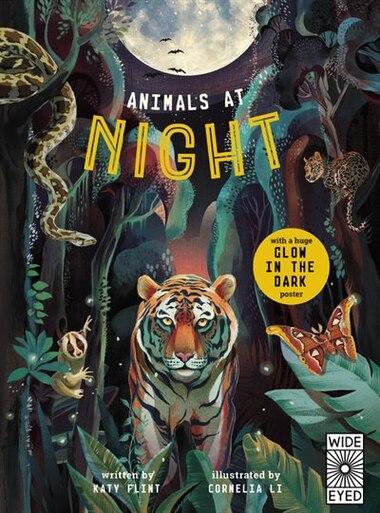 Glow In The Dark: Animals At Night by Katy Flint