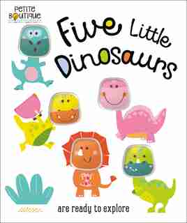 Petite Boutique Five Little Dinosaurs by Na