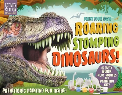 PAINT YOUR OWN ROARING STOMPING DINOSAUR by Na