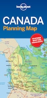 Lonely Planet Canada Planning Map 1st Ed.