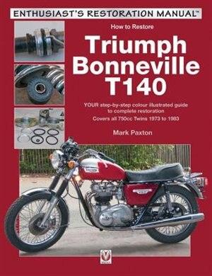 Triumph Bonneville T140 by Mark Paxton