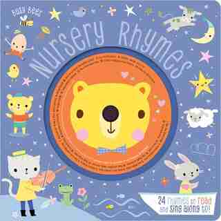 NURSERY RHYMES WITH CD by Bees Busy