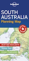 Lonely Planet South Australia Planning Map 1st Ed.