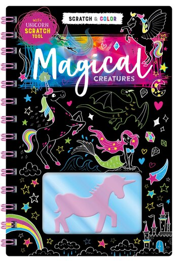 Scratch Art: Magical Creatures by Igloo Books