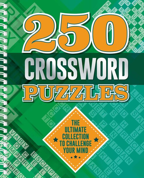 250 Crossword Puzzles by Igloo Books
