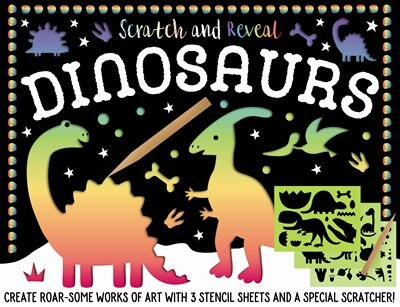 SCRATCH & REVEAL DINOSAURS by Na
