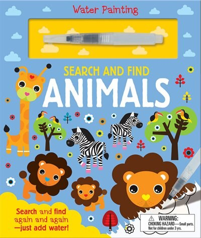 SEARCH & FIND ANIMALS by Georgie Taylor