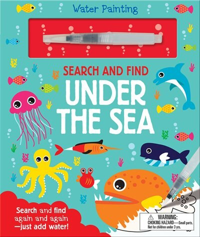 SEARCH & FIND UNDER THE SEA by Georgie Taylor