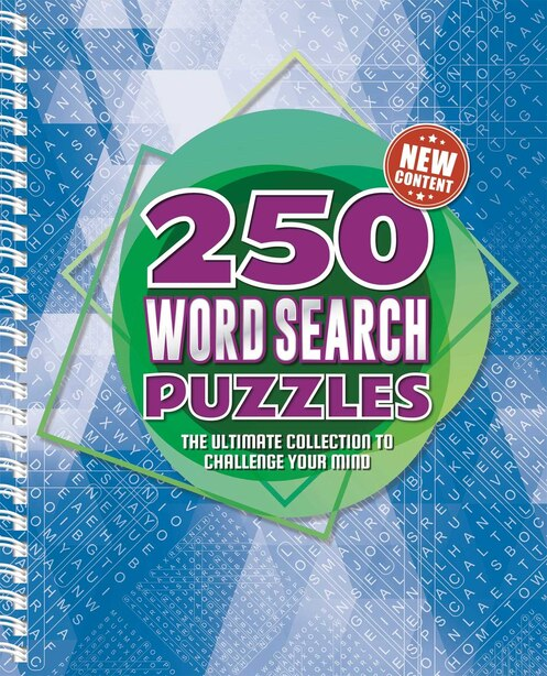 250 Word Search Puzzles: 250 Easy To Hard Wordsearch Puzzles For Adults de IglooBooks
